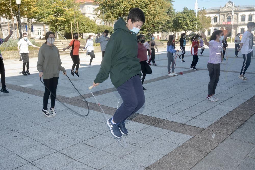 ¡A hacer gimnasia a la calle!