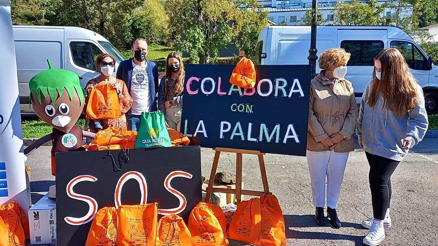 Piloña responde a la iniciativa solidaria del instituto para La Palma