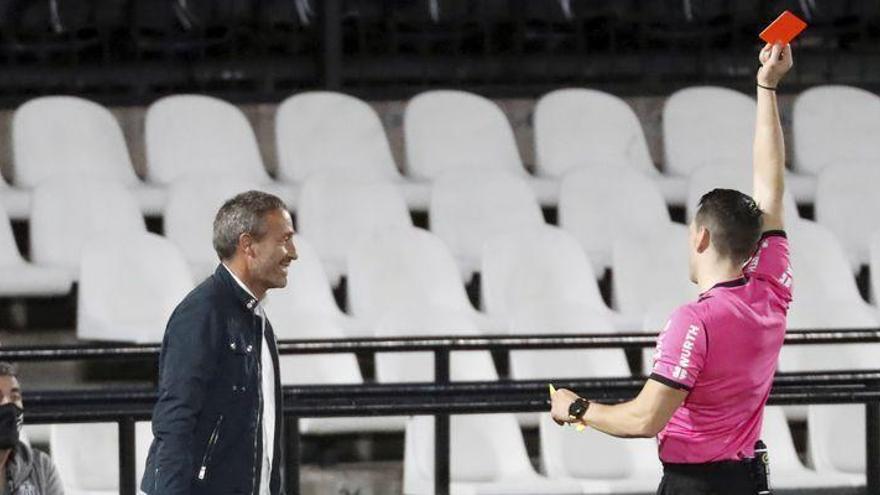Dos partidos de sanción para Marc Mateu y Óscar Cano