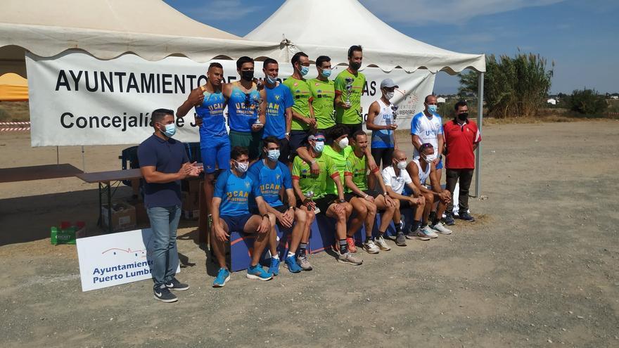 Puerto Lumbreras otorga los títulos regionales de cross por clubes