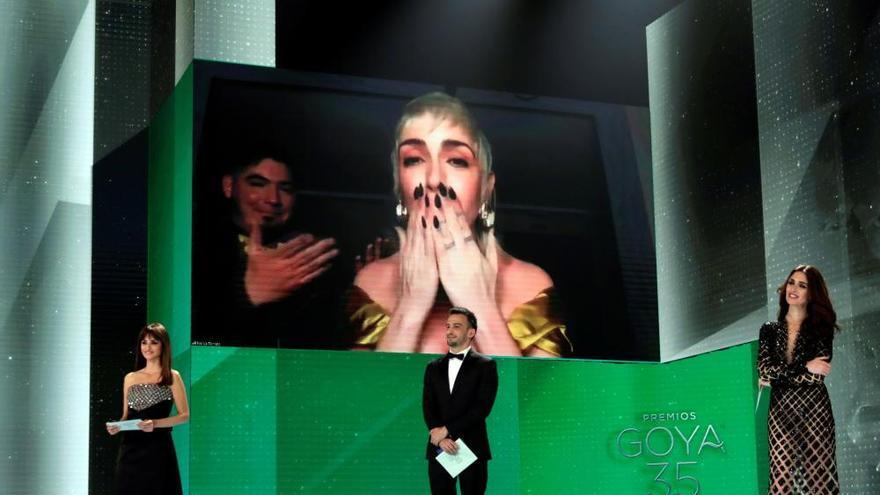 Las imágenes de la gala de los Premios Goya 2021