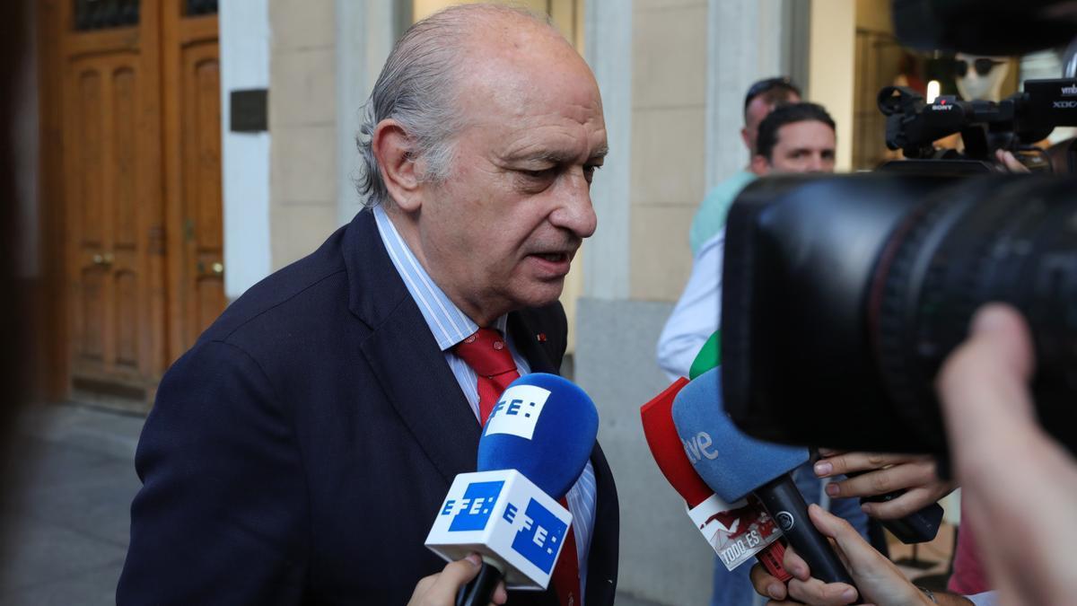 El exministro Jorge Fernández Díaz.