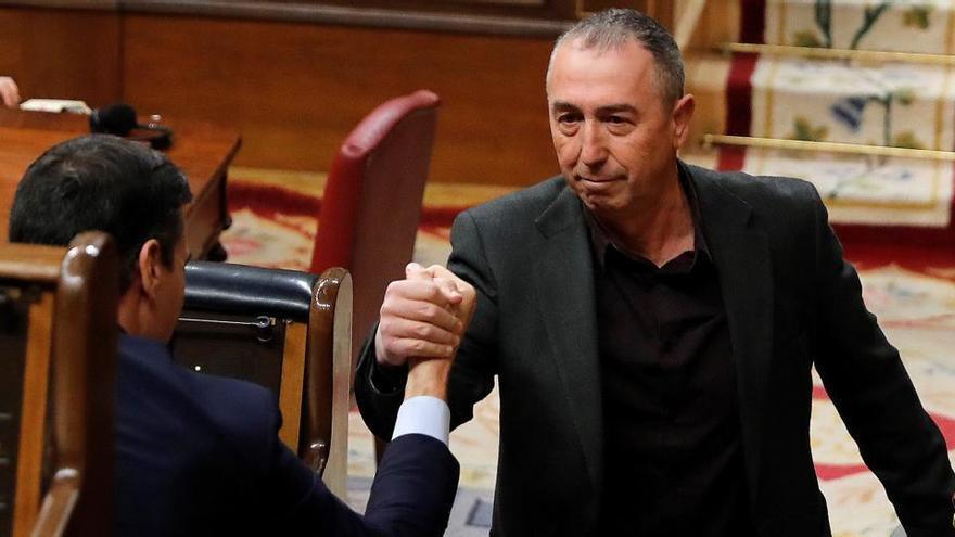 El Gobierno y Compromis pactan en Madrid incluir la nueva financiación autonómica en la reconstrucción