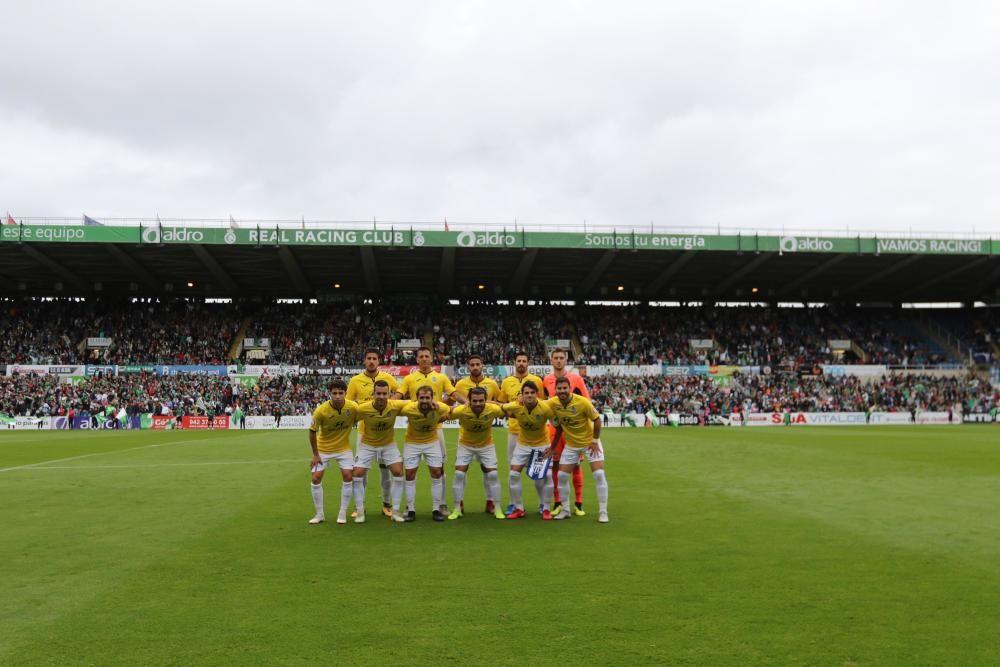 El Atlético Baleares sobrevive con nueve en El Sardinero