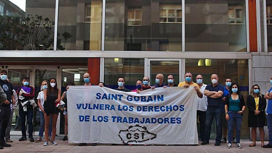 CSI lleva a los tribunales a Saint-Gobain Cristalería