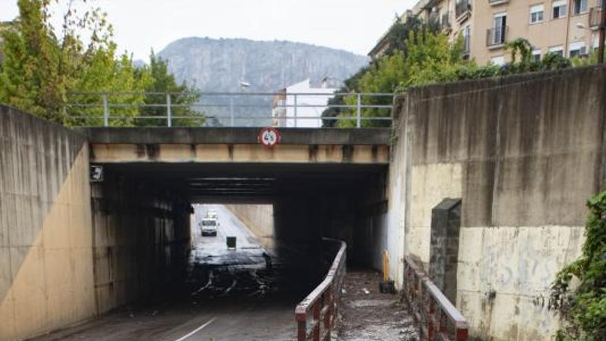 La Vall sufre un déficit de lluvias  pese a la sucesión de temporales