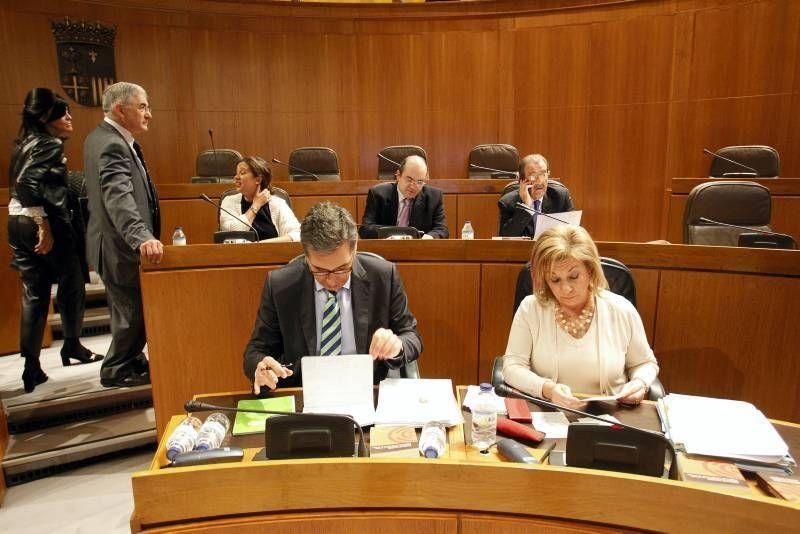 Fotogalería del Pleno de las Cortes 19/12/2014