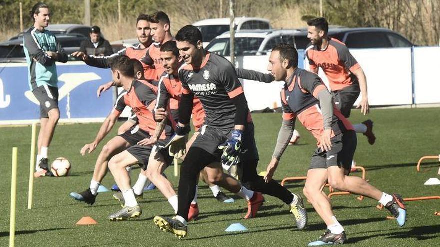 Pedraza, con el grupo y Fornals es duda con el Villarreal ante el Zenit