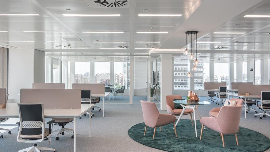 Actiu crea la oficina piloto para la nueva etapa del edificio Los Cubos de Madrid