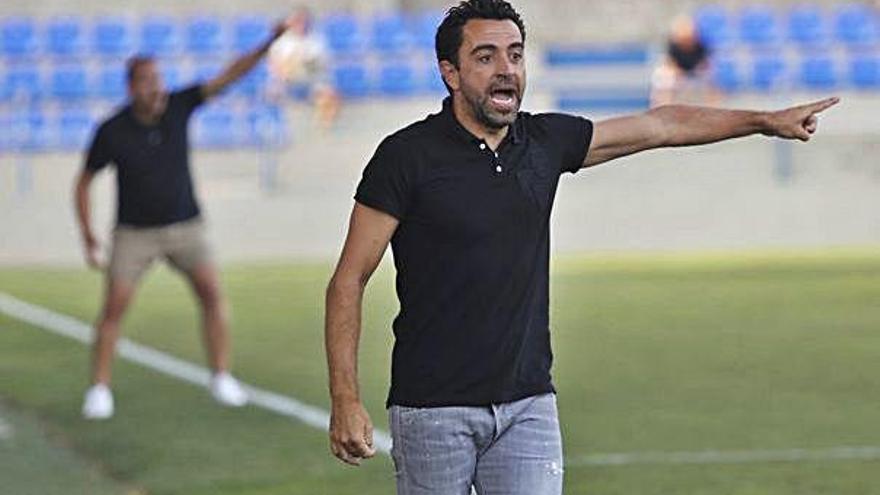 Xavi: «Entrenar el Barça  és un somni però respecto molt la feina de Valverde»
