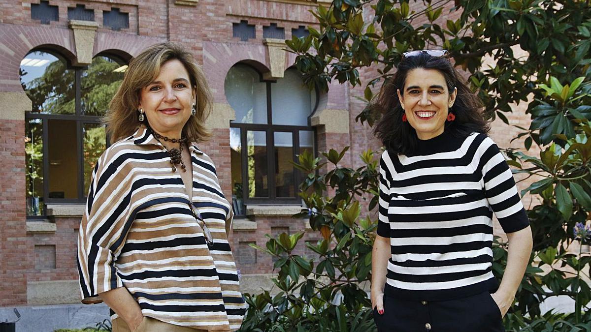 33 Rosario Mérida y María Elena González, coordinadoras del proyecto de Prácticum Reicu. | A.J. GONZÁLEZ