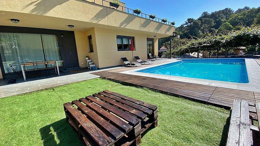 Galicia se zambulle este verano en el alquiler de piscinas privadas por horas