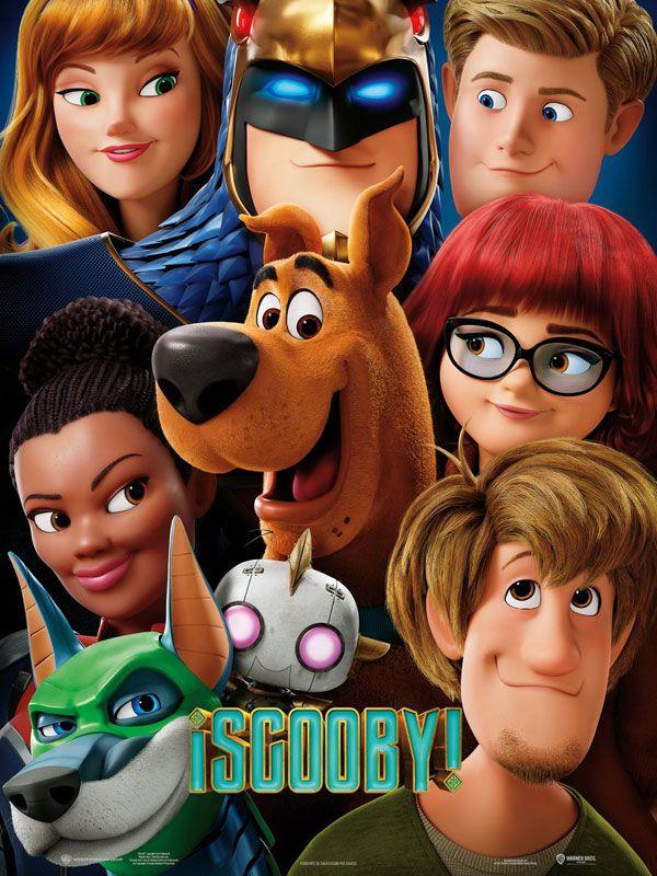 Cartel película Scooby