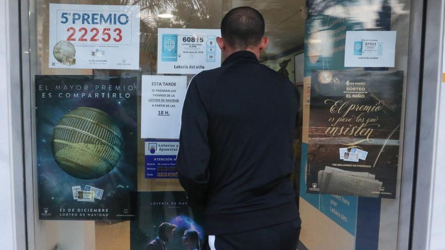 Vendido en Sant Antoni parte del primer premio de la Lotería Nacional