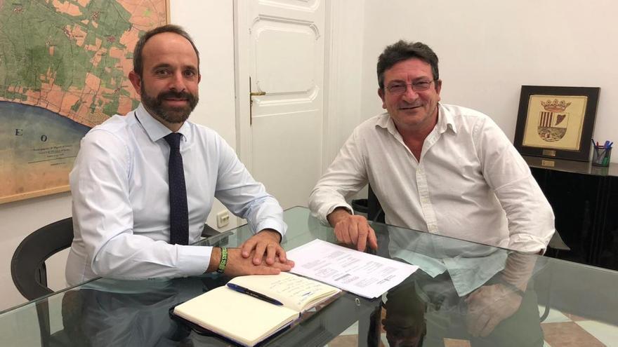 El PSPV de Paterna apoya el premio a Vicent Gabarda