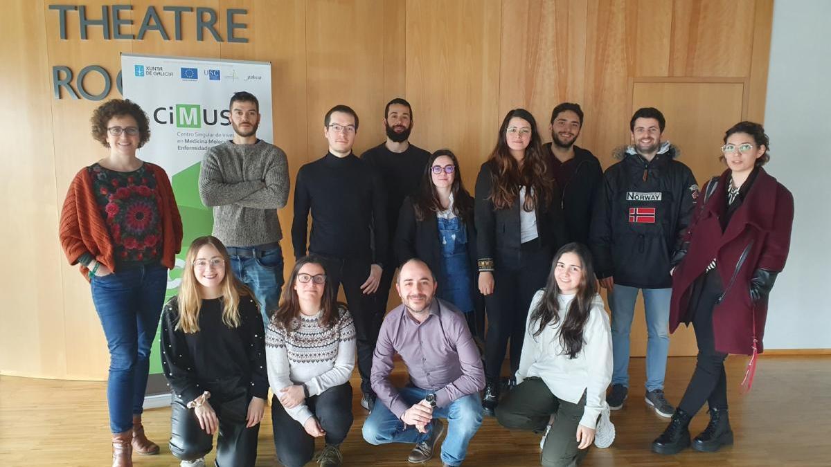 Grupo de investigadores del CiMUS.