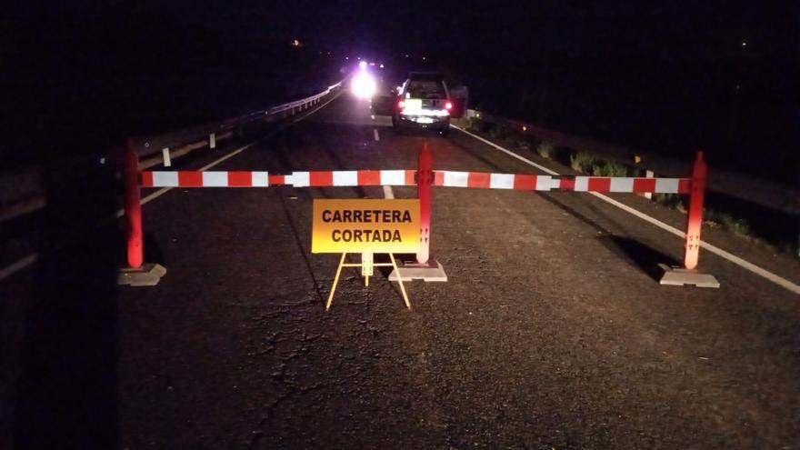 Estas son las carreteras cortadas debido a la gota fría