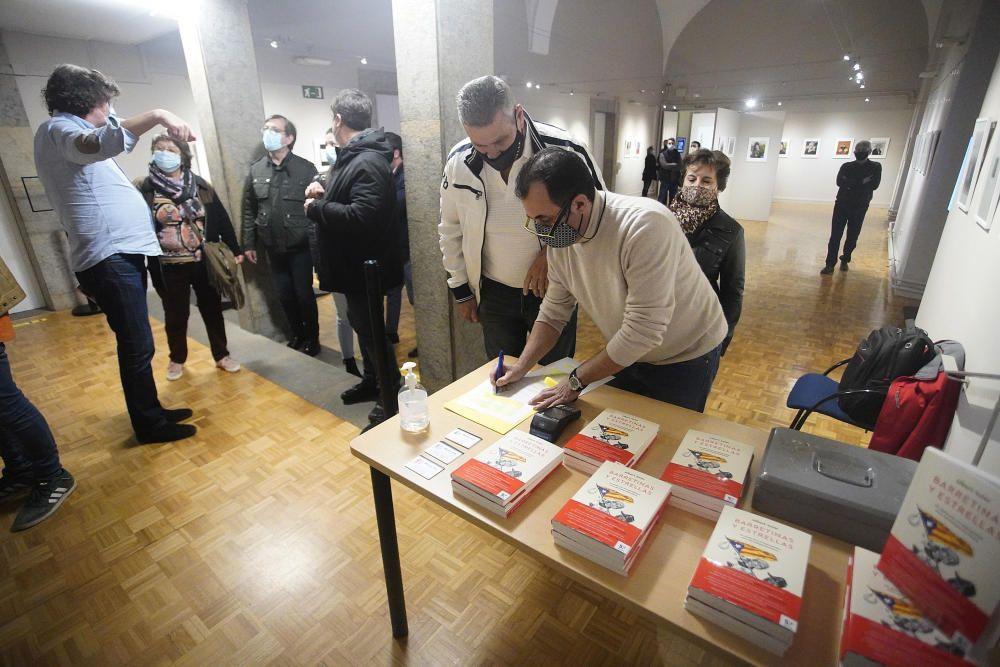 Presentació del nou llibre d'Albert Soler, «Barretinas y Estrellas»
