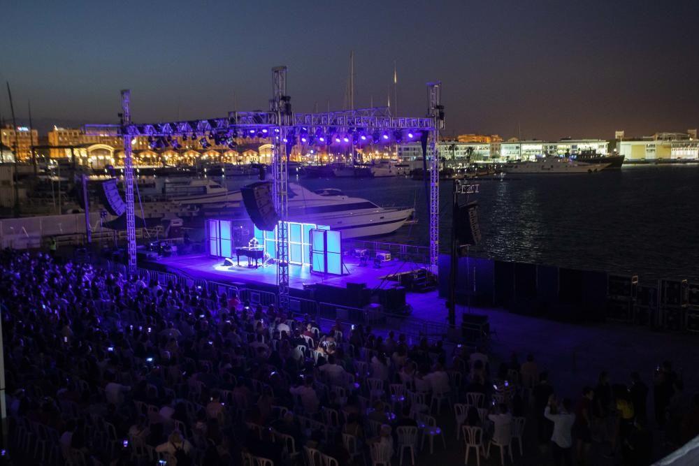 FOTOS | Concierto de Pablo López en la Marina de València
