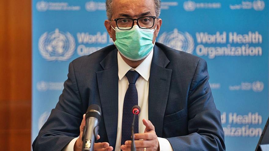 """La OMS pide a China y a """"todos los gobiernos"""" que """"cooperen"""" para encontrar el origen de la pandemia"""