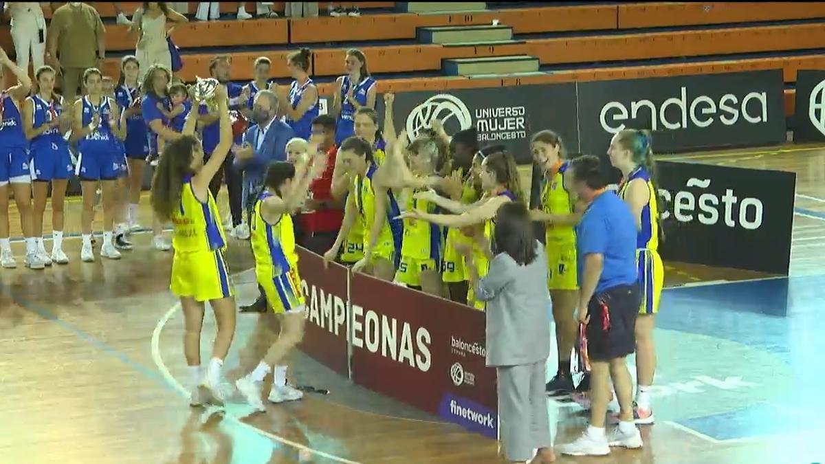 El CB Islas Canarias junior, campeón de España junior