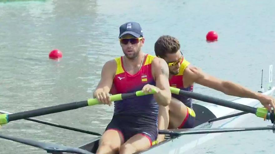 El remo español se lleva tres diplomas olímpicos