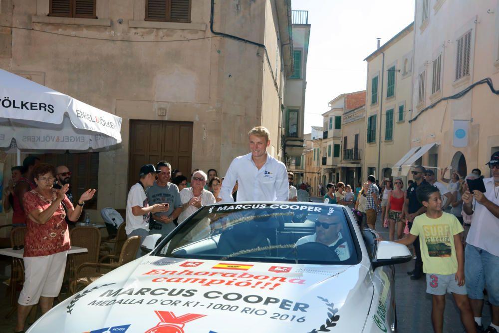 Homenaje a Marcus Cooper Walz en Santanyí