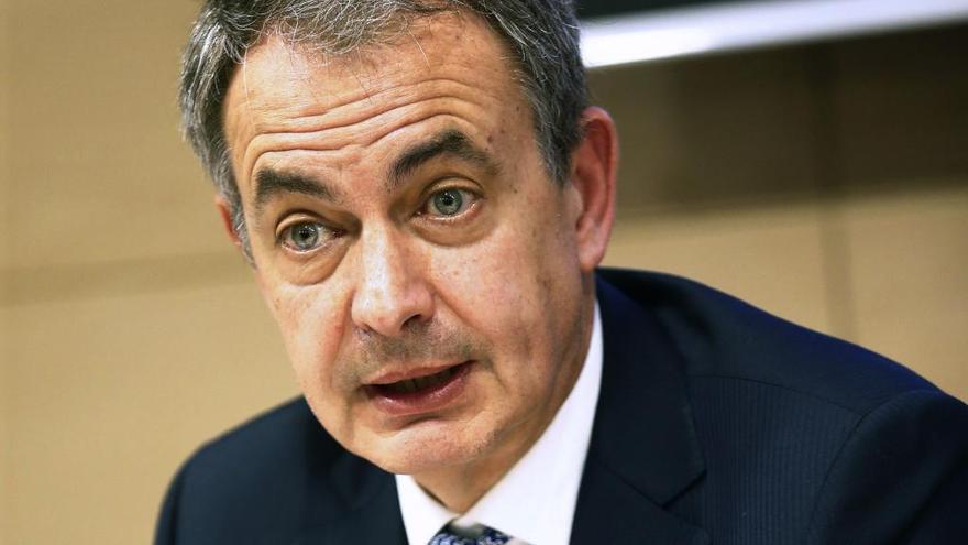 Zapatero insta a volver al Estatut de 2010 en Cataluña