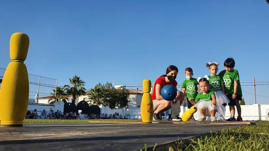 Más de 100 niños participan en las tradicionales en las Miniolimpiadas Rurales de Añora