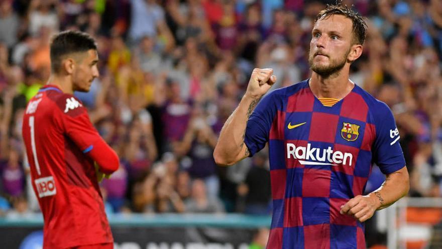 El Barcelona gana el primer duelo al Nápoles en EEUU