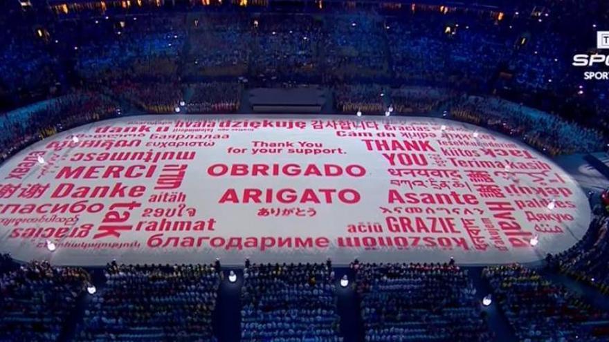 Els Jocs de Rio també donen les gràcies en català