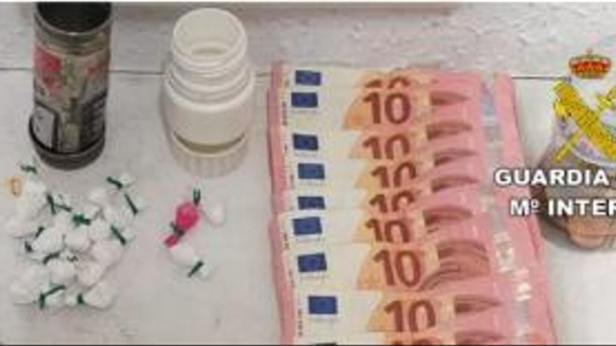 Detenido un jubilado en Guardamar del Segura por tráfico de drogas