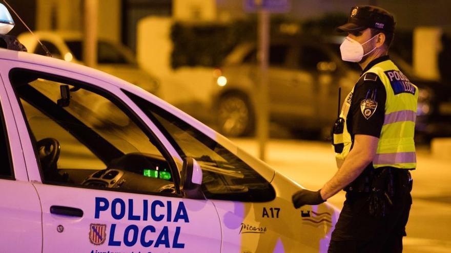 Sant Josep registra menos delitos penales y accidentes graves debido al covid