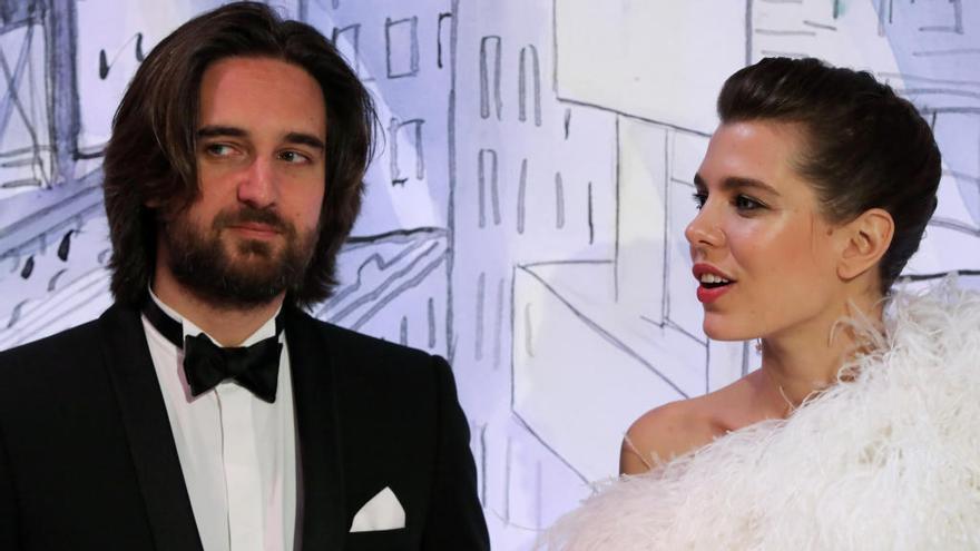Carlota Casiraghi se casa en Mónaco con el productor de cine Dimitri Rassam