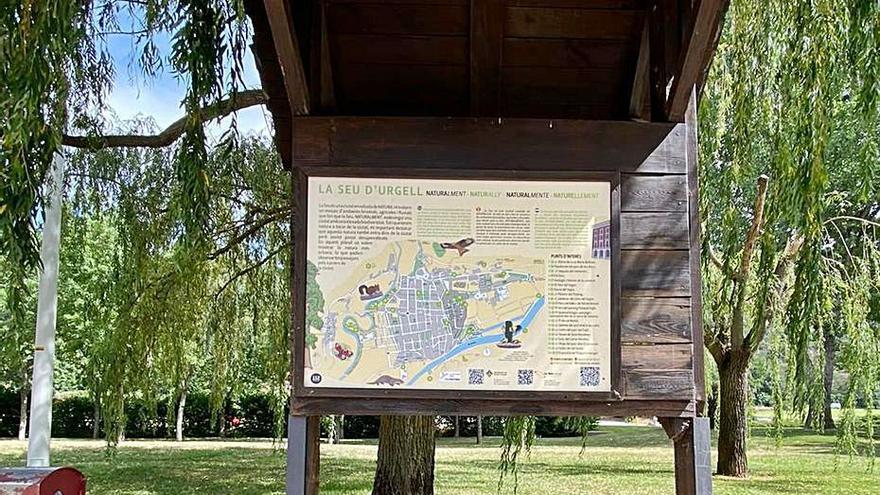 La Seu afegeix l'oferta ecoturística als plafons informatius de la ciutat