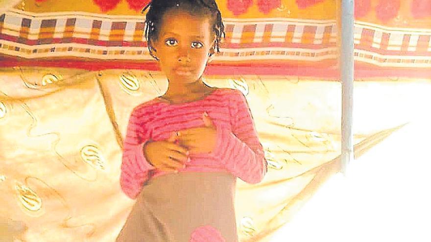 La ONG logra en tres horas acogida y viaje para Emeyah