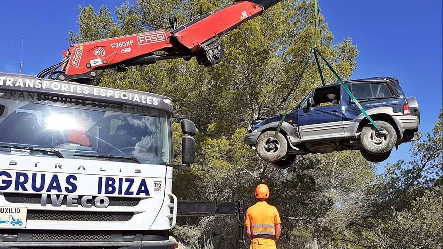 Ingresadas dos personas tras varias jornadas de accidentes en Ibiza