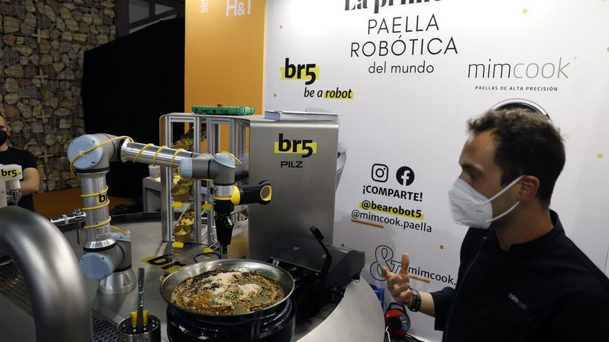 Una paella creada por un robot revoluciona el sector de la hostelería