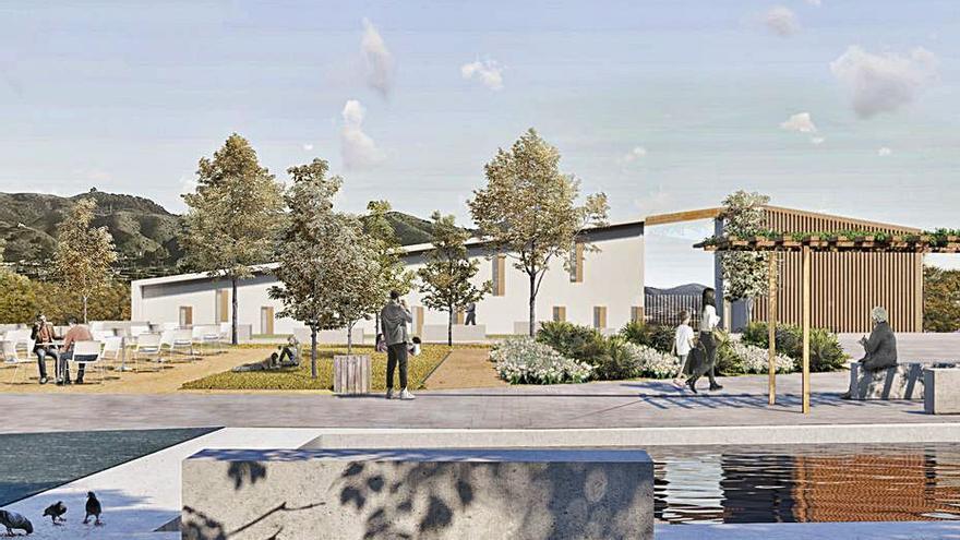 Proyectan una gran plaza y un centro social en el distrito de Campanillas