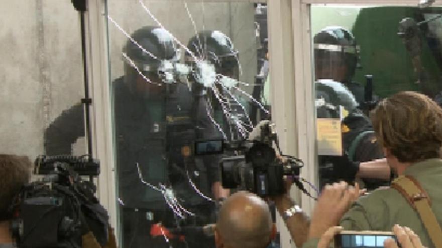 El jutjat rebutja que l'Estat indemnitzi Sant Julià de Ramis per les destrosses al pavelló durant l'1-O