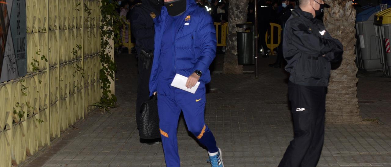 El Barça llega a Elche