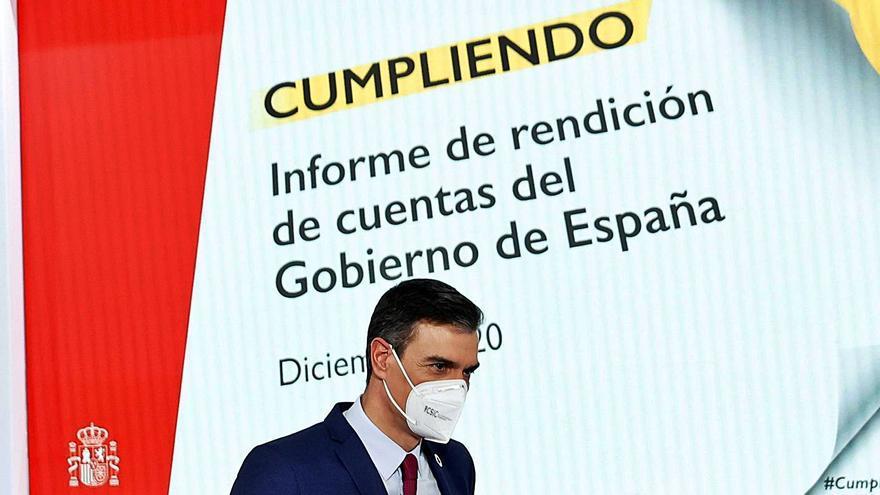 Sánchez completa un tercio de los compromisos de investidura con las Islas