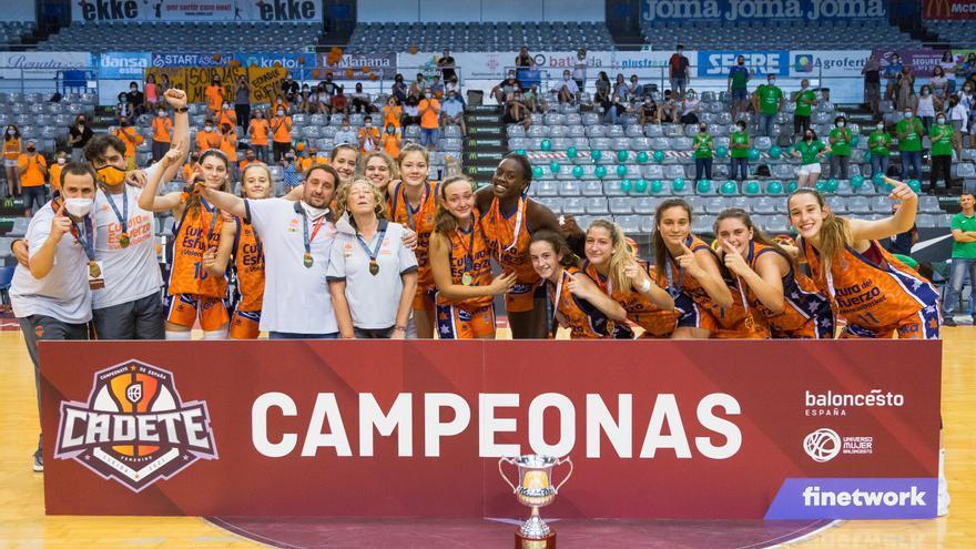 Valencia Basket consigue el primer título del Campeonato de España de su historia