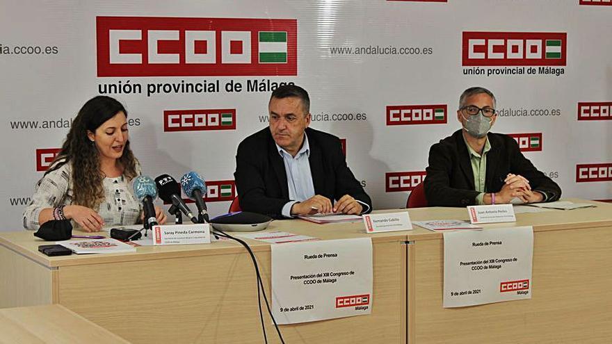 CCOO tiene la representación del 46% de trabajadores de Málaga