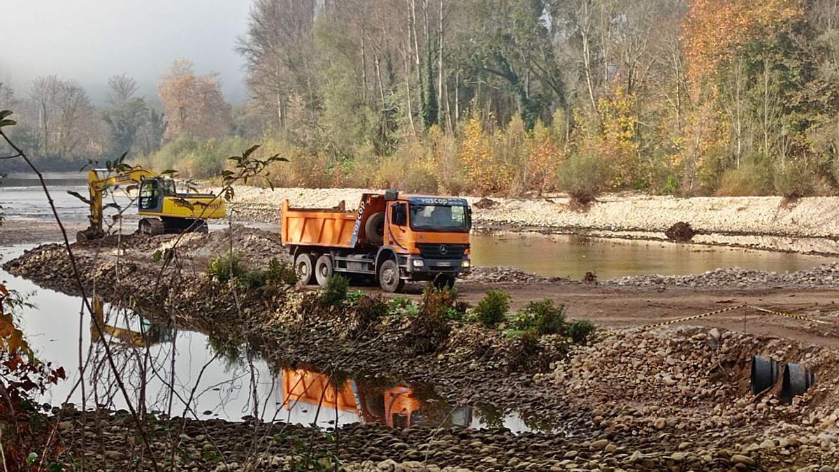 164.000 euros para evitar inundaciones del río Sella en Triongo | EVA SAN ROMÁN