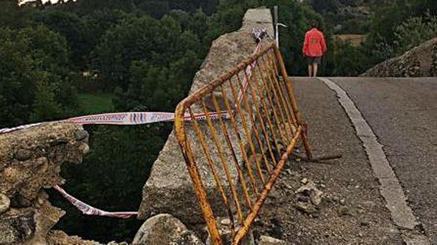 L'informe sobre el pont de Sant Martí descarta danys estructurals