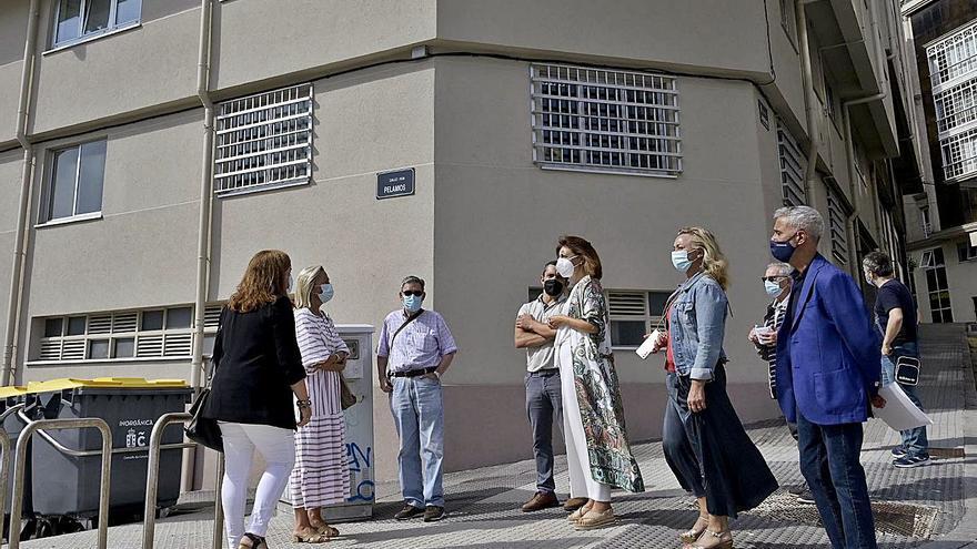 La Xunta eleva el gasto hasta 2,2 millones para comprar edificios de Ciudad Vieja y Orzán