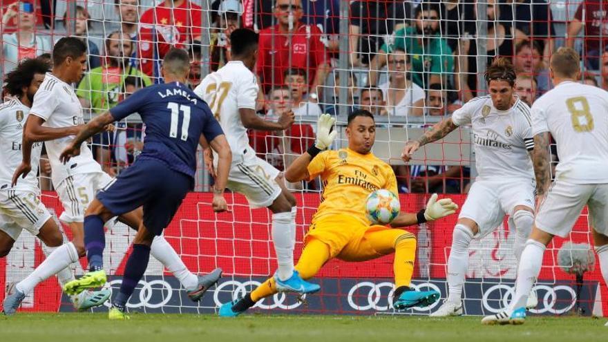 Keylor Navas salva al Madrid de sufrir otra goleada ante el Tottenham de Pochettino
