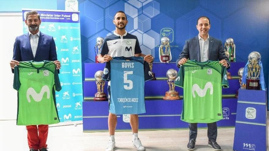 Boyis ya ejerce como jugador del Movistar Inter