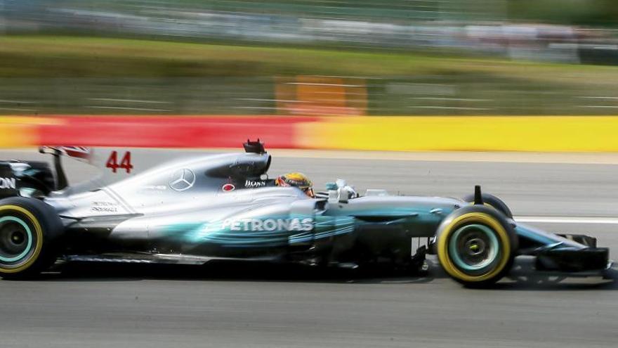 Hamilton, el más rápido en los libres de Bélgica